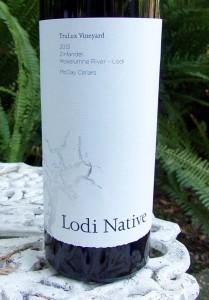 2013 Lodi Native TruLux Vineyard Zinfandel McCay Cellars