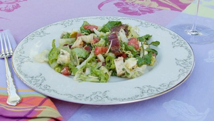 Plated Cobb Salad