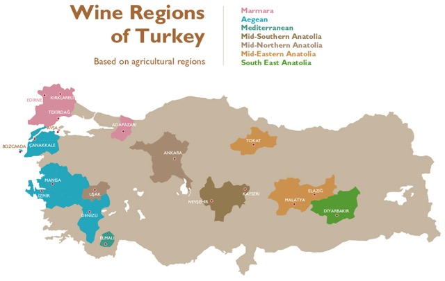 WineRegionsofTurkey