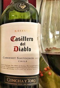 Casillero del Diablo Cab Sav for Super Bowl