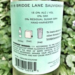 Bridge Lane Sauvignon Blanc label
