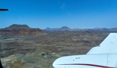 Namibia from the air
