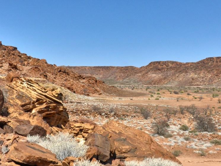Twyfelfontein valley view