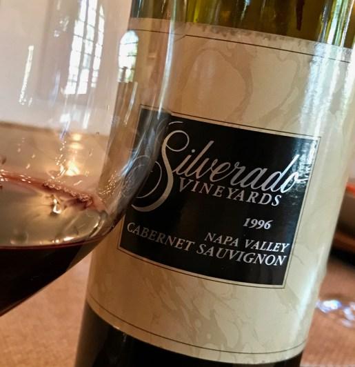 1996 Silverado Vineyards Cabernet