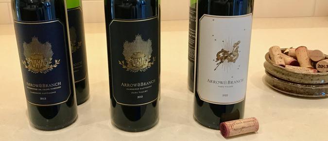 ArrowandBranch red wines