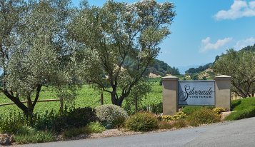 Silverado Vineyards entrance