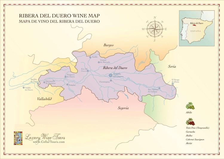 Ribera del Duero Wine Region