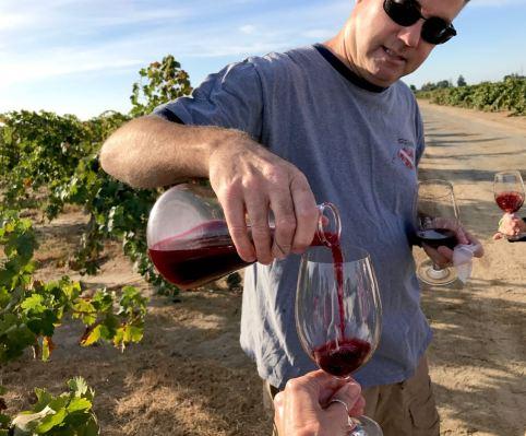 A taste of 2017 Lodi Native Marians Vineyard Zin