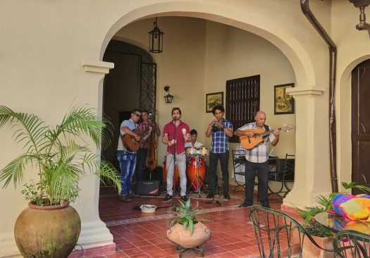 Band at Hotel Encanto Santa Maria