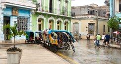 Bicitaxi lineup