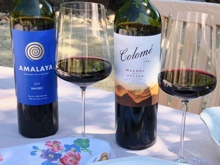 Amalaya and Colome Malbec