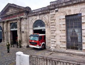 Fire station in Matanzas