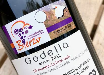 Godelia Mencia back label