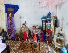 Santaria altar