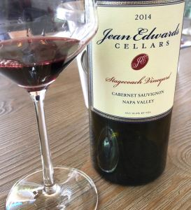 Jean Edwards Cellars Cabernet Sauvignon Stagecoach Vineyard Image