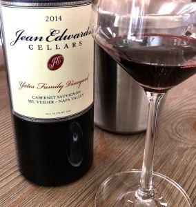 Jean Edwards Cellars Cabernet Sauvignon Yates Family Vineyard Image