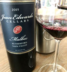 Jean Edwards Cellars Malbec Rutherford Image