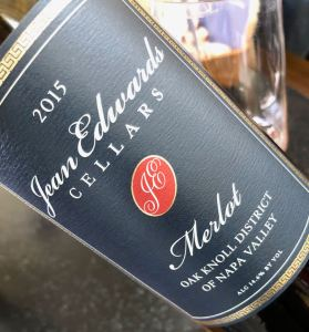 Jean Edwards Cellars Merlot Oak Knoll District Image