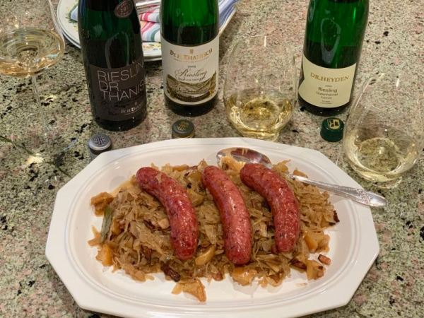 Off-dry Riesling food pairing