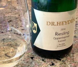 Weingut Dr. Heyden Oppenheimer Riesling Kabinett, Rheinhessen