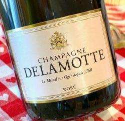 Champagne Delamotte Rosé, NV