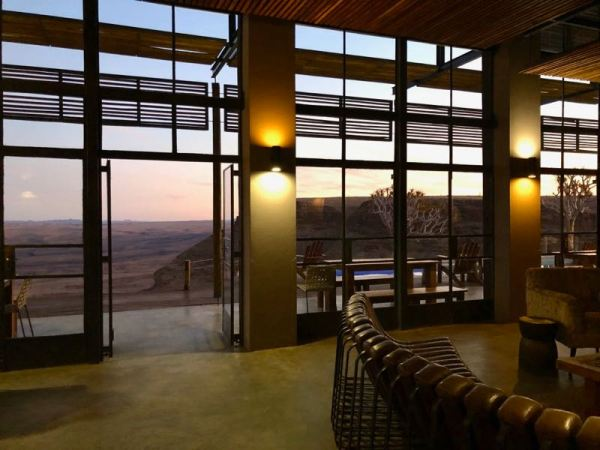 Dusk at the Fish River Lodge