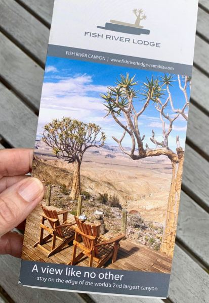 Fish River Lodge brochure - a view like no other