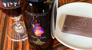 Macchia Zinfandel and BRIX Chocolate