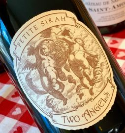 2017 Two Angels Petite Sirah, Red Hills, Lake County