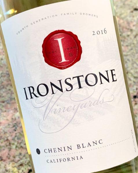 2016 Ironstone Vineyards Chenin Blanc, California