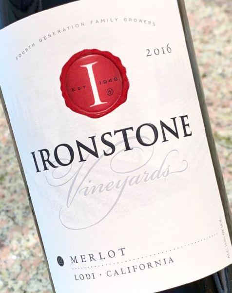 2016 Ironstone Vineyards Merlot, Lodi