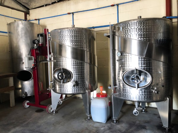 New stainless steel tanks
