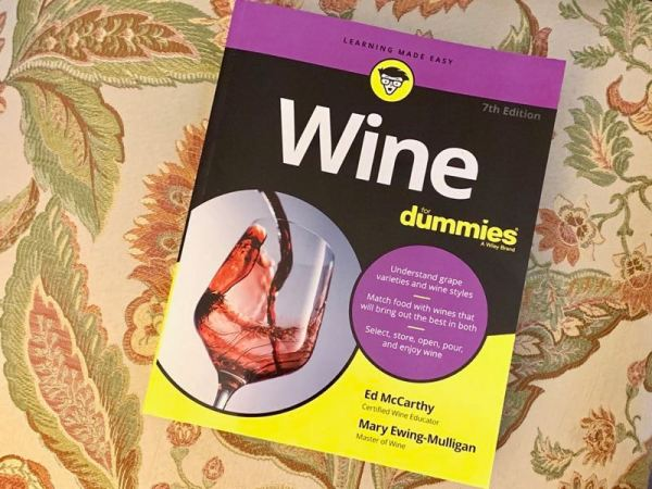 """""""Wine For Dummies"""", 7th edition by Ed McCarthy and Mary Ewing-Mulligan"""