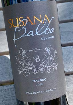2016 Susana Balbo Signature Malbec, Mendoza, Argentina