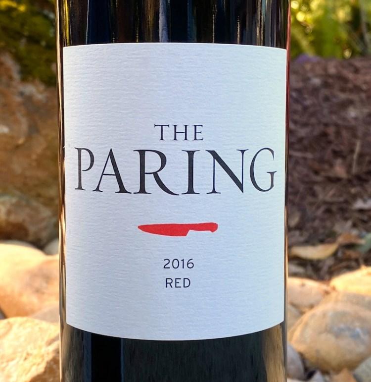 2016 The Paring Red Wine, California photo