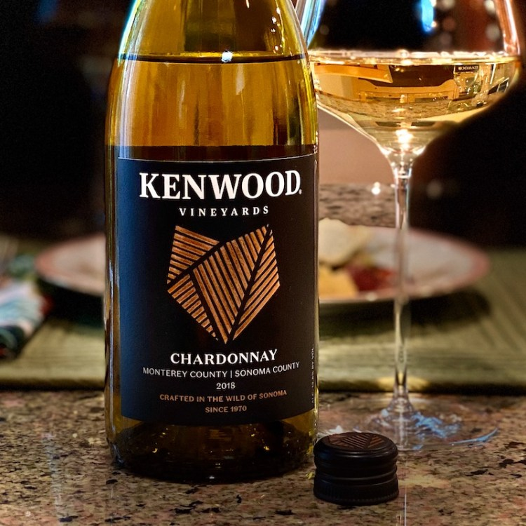 2018 Kenwood Vineyards Chardonnay, Monterey County/Sonoma County photo