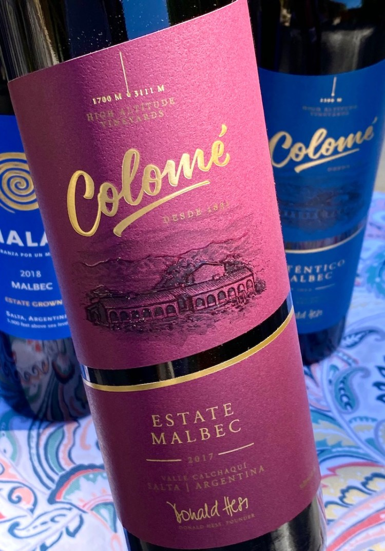 2017 Colomé Estate Malbec, Valle Calchaquí, Salta, Argentina photo