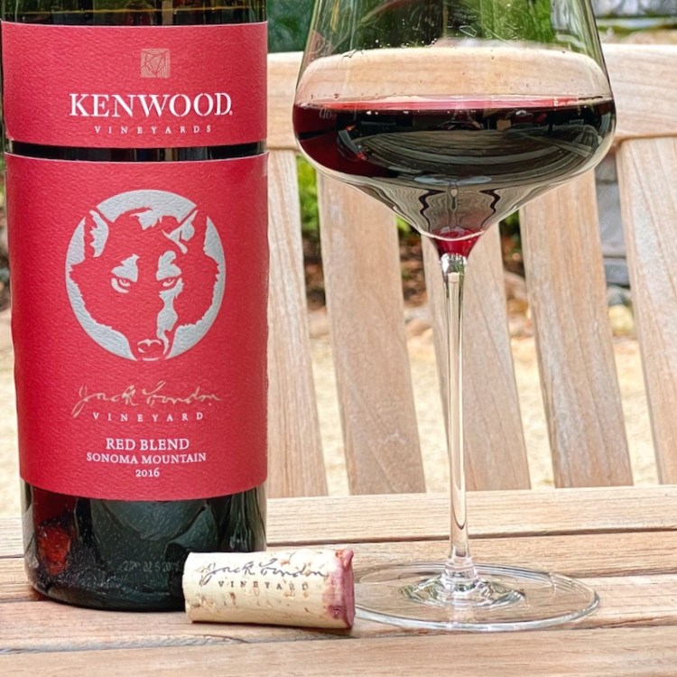 2016 Kenwood Vineyards Jack London Red Blend, Sonoma Mountain photo