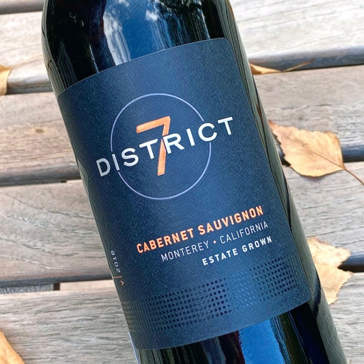 2018 District 7 Cabernet Sauvignon, Monterey, California photo