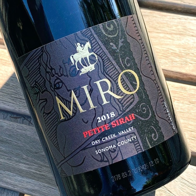 2018 Miro Cellars Petite Sirah, Dry Creek, Sonoma County photo