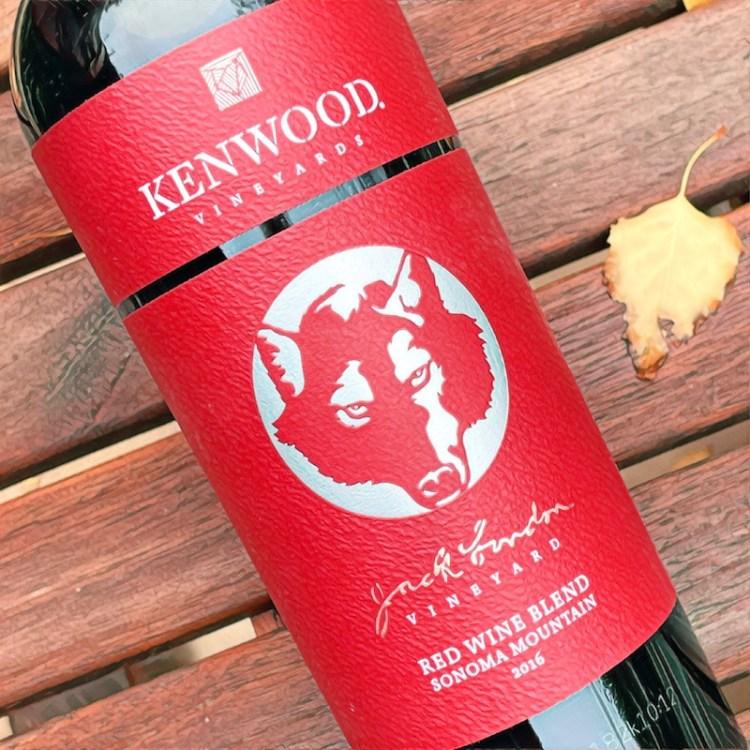 2016 Kenwood Vineyards, Jack London Vineyard, Red Wine Blend, Sonoma Mountain photo
