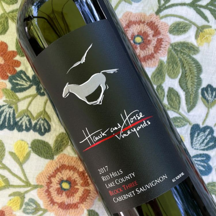 2017 Hawk and Horse Vineyards Block Three Cabernet Sauvignon, Red Hills Lake County photo