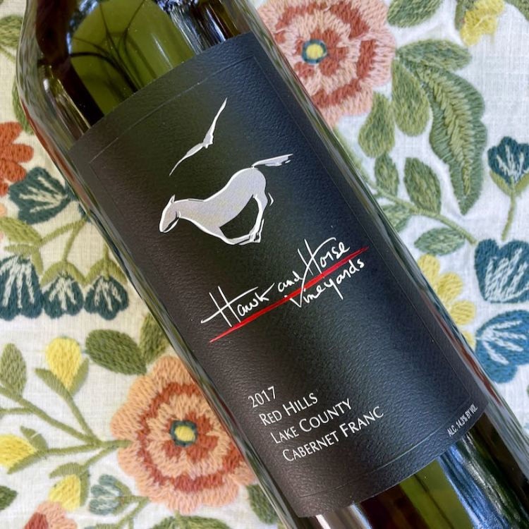 2017 Hawk and Horse Vineyards Cabernet Franc, Red Hills Lake County photo