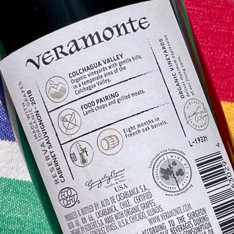 Veramonte certifications photo