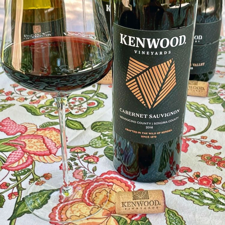 2017 Kenwood Vineyards Cabernet Sauvignon, Mendocino County|Sonoma County photo