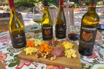 Kenwood Vineyards wine and cheese featured photo