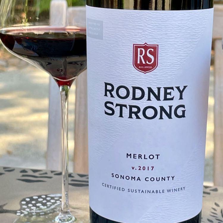 2017 Rodney Strong Merlot, Sonoma County photo
