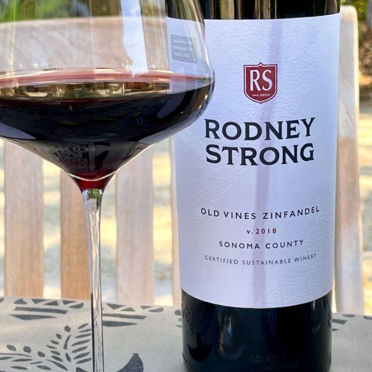 2018 Rodney Strong Old Vines Zinfandel, Sonoma County photo