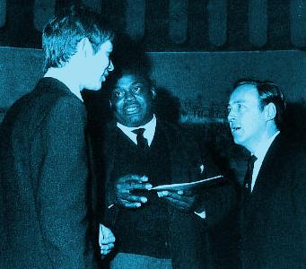Baldry, Willie Dixon and Chris Barber, circa late 50's