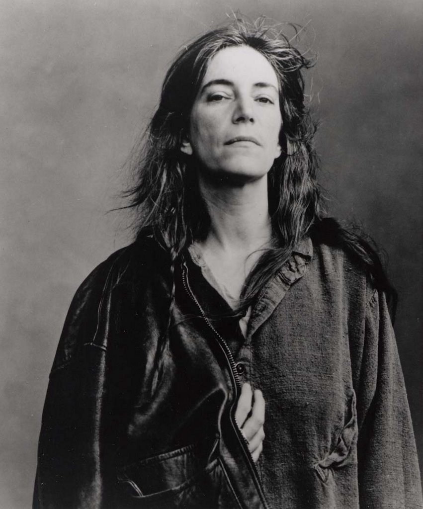 Patti Smith by © Annie Leibovitz (used without permission)